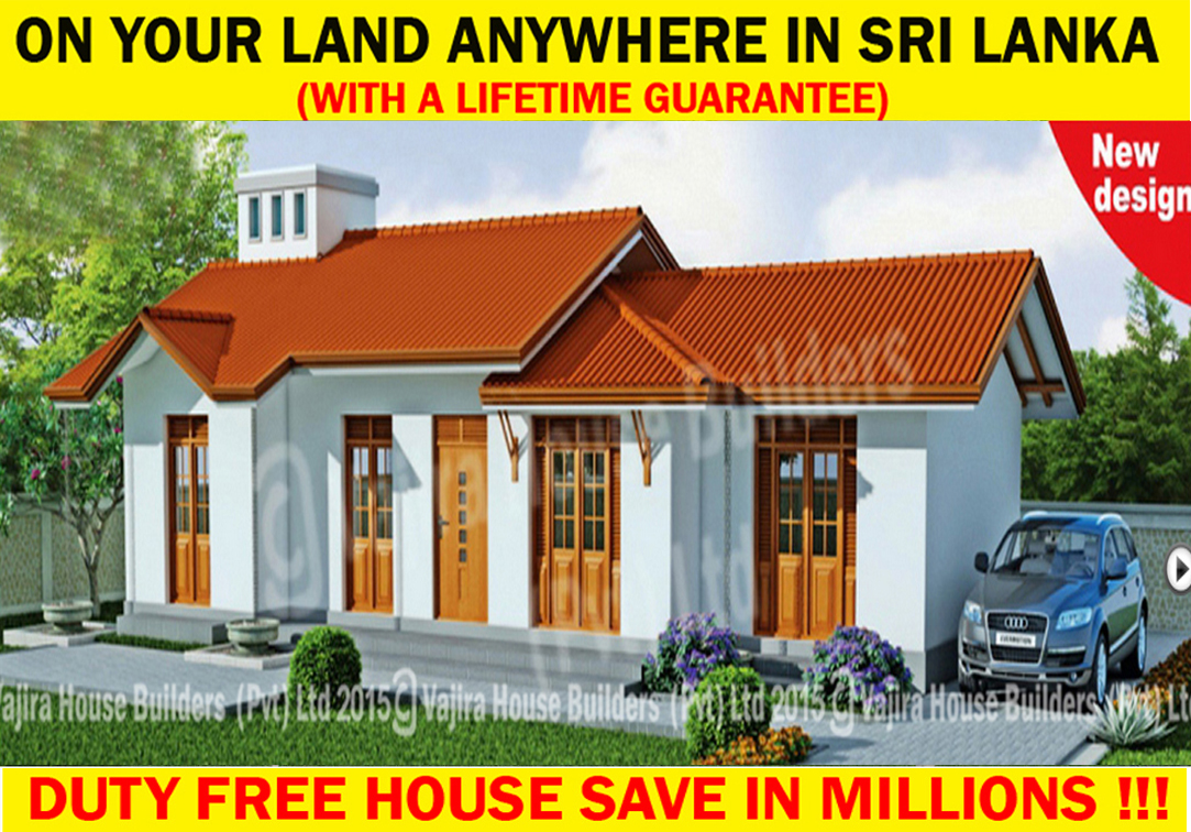 I 1 Vajira House Builders Private Limited Best House