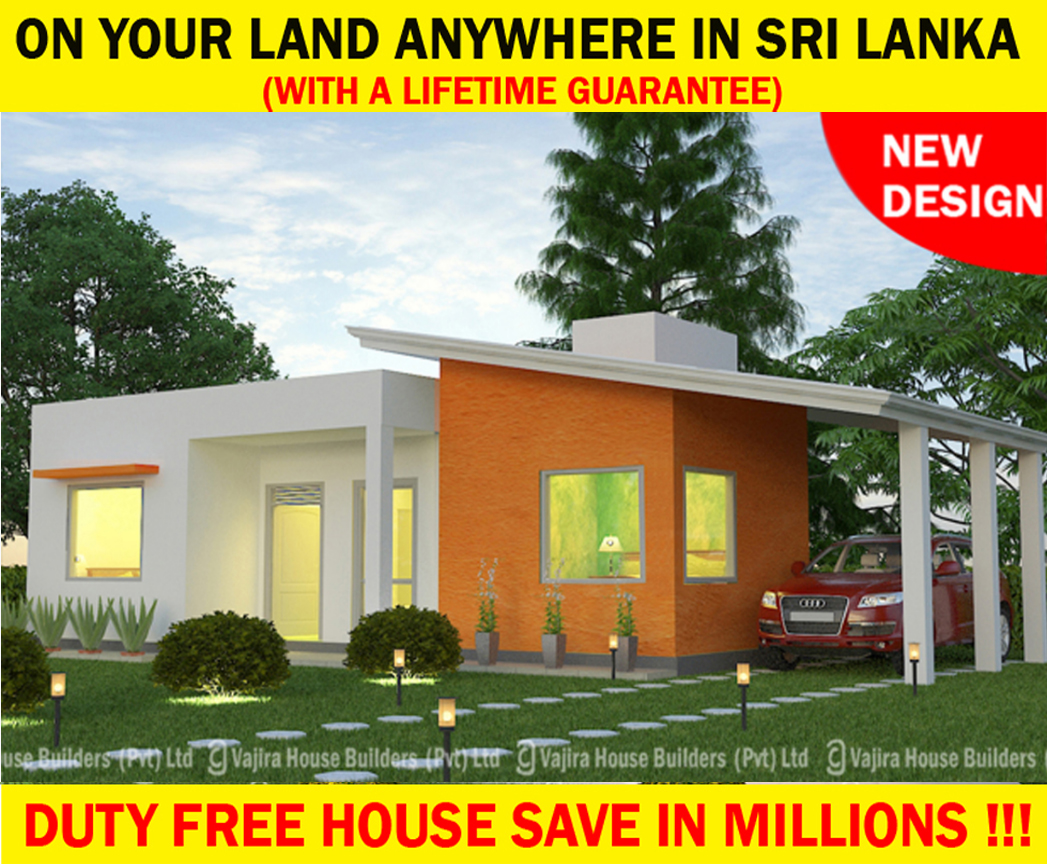 New s 5 vajira house builders private limited best for Vajira house designs with price