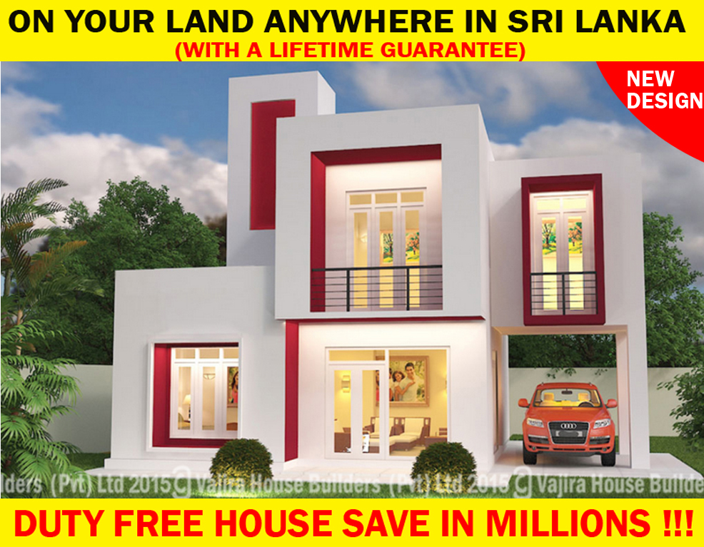 Sl 6 new vajira house builders private limited best for Vajira house designs with price