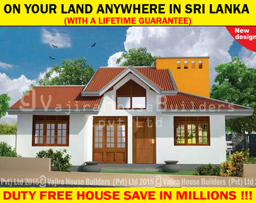 Ss 17 vajira house builders private limited best for Vajira house designs with price