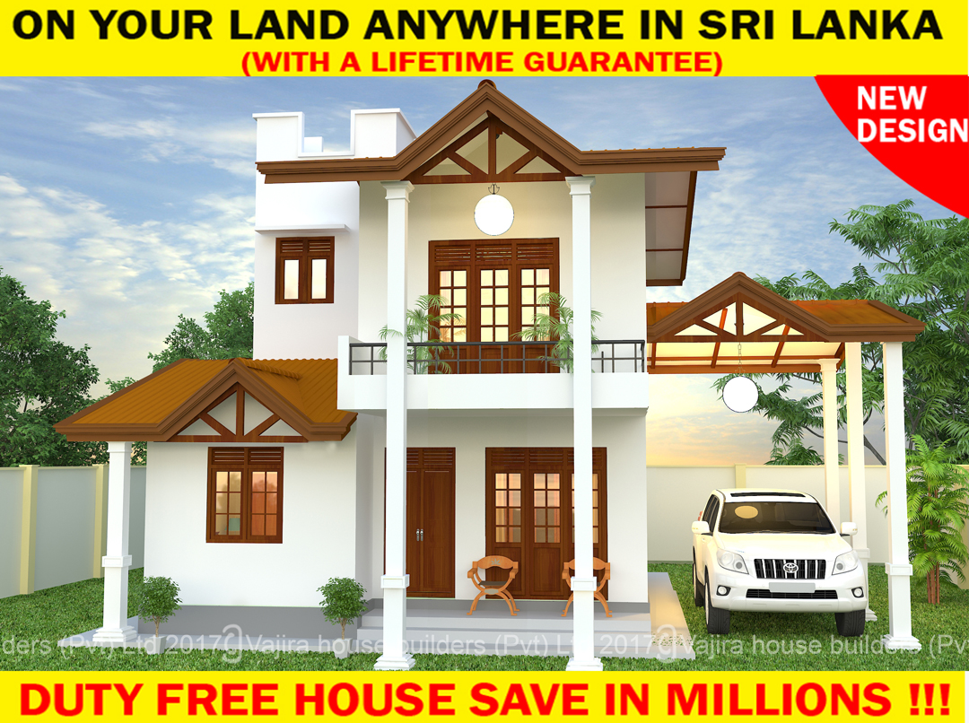 Lct 15 vajira house builders private limited best for Vajira house designs with price