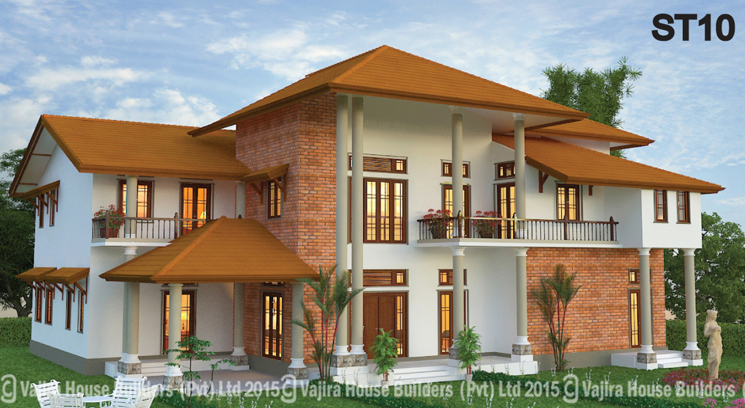 Vajira house plan in sri lanka for Home design images