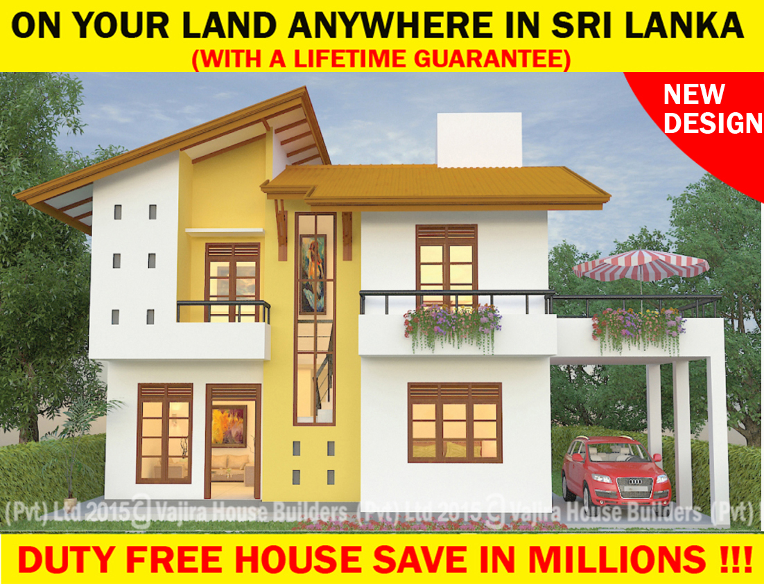 St 6 vajira house builders private limited best New construction home plans