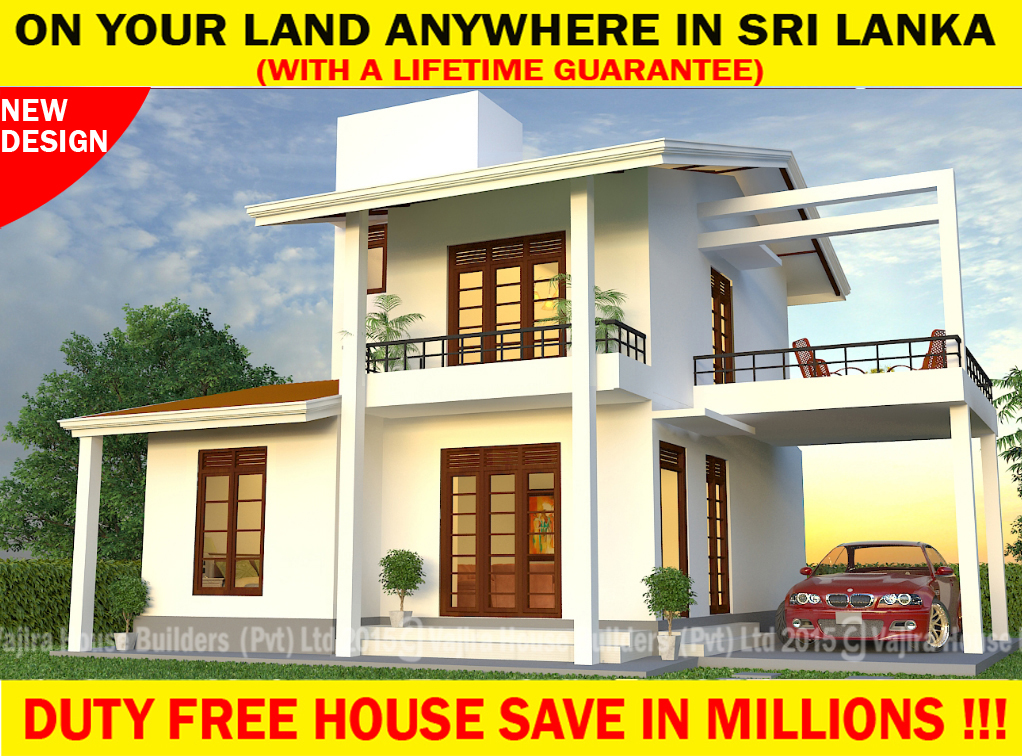New House Plans For 2016 Sri Lanka