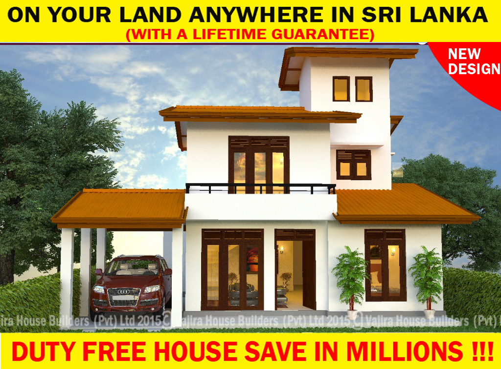 Ts 138 vajira house builders private limited best for Vajira house designs with price
