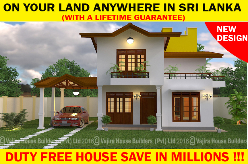 Ts 160 vajira house builders private limited best for Vajira house home plan