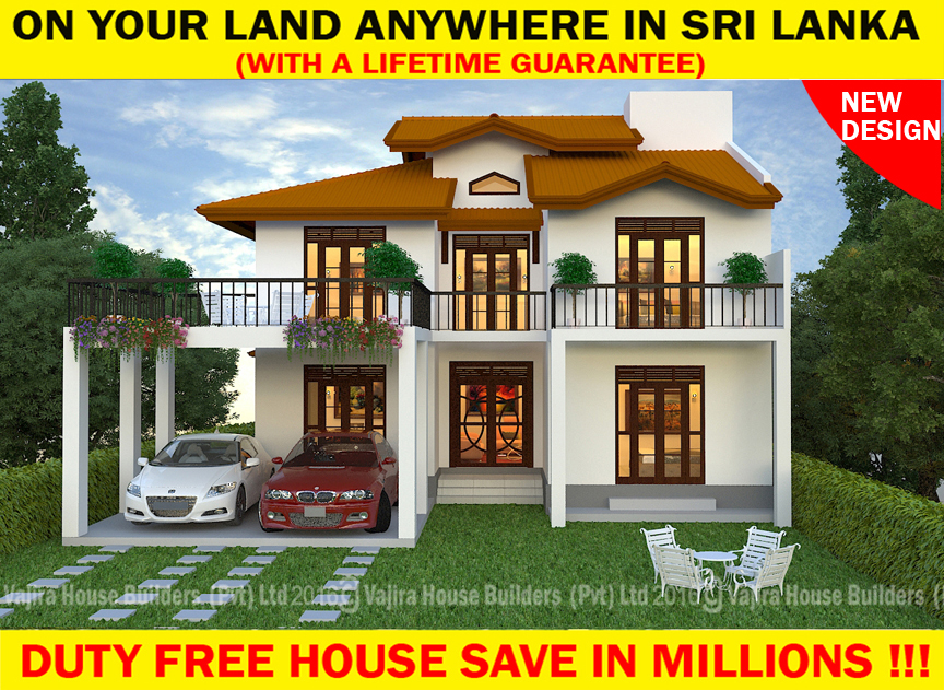 Vajira house designs in sri lanka house design for Sri lankan homes plans
