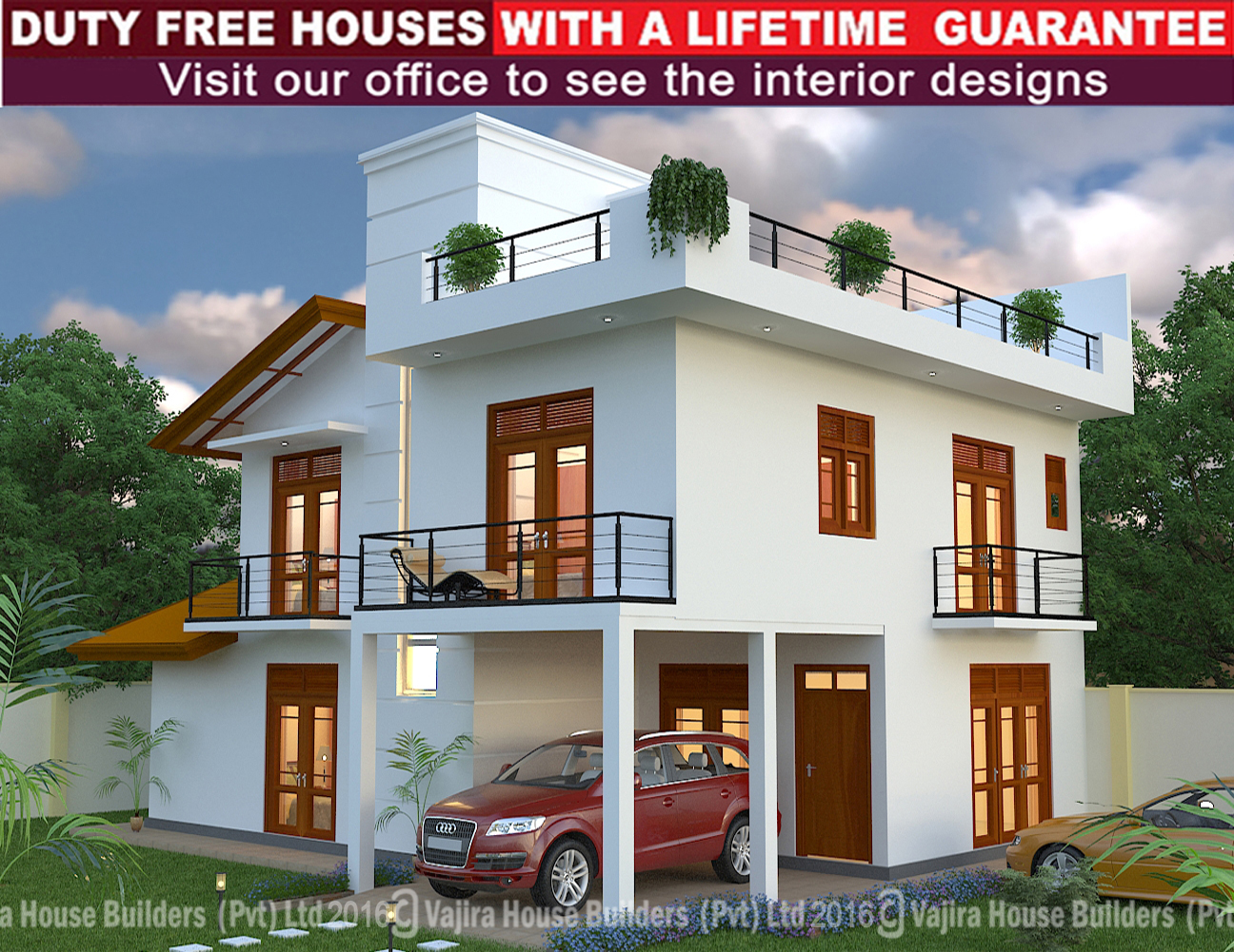 Vajirahouse with roofing desing joy studio design for Vajira house home plan