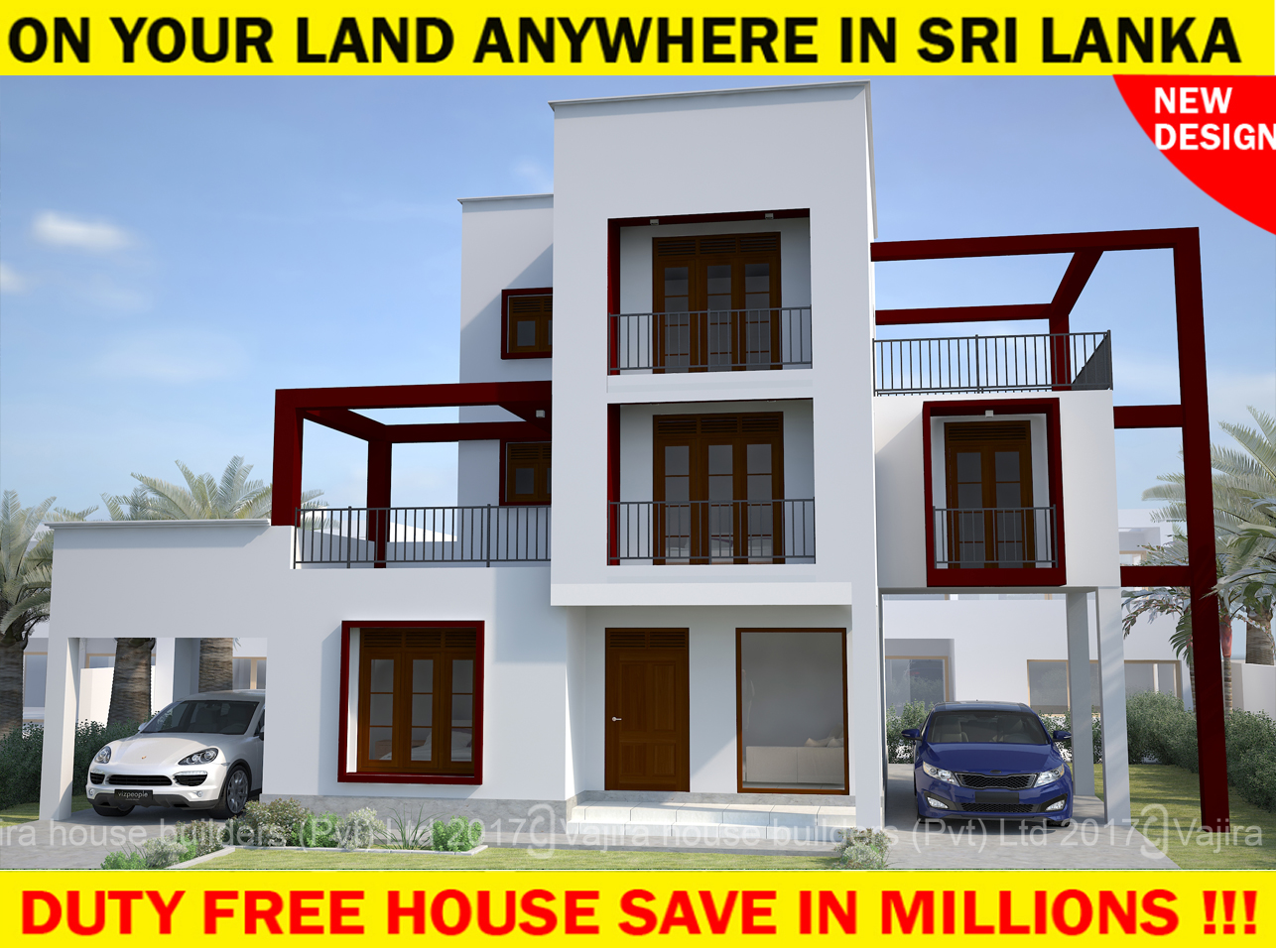 Home plans sri lanka 2017 for Sri lankan homes plans
