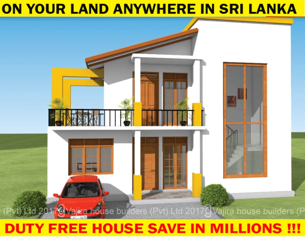 Sri lanka house builders house building desig awesome for New home designs in sri lanka