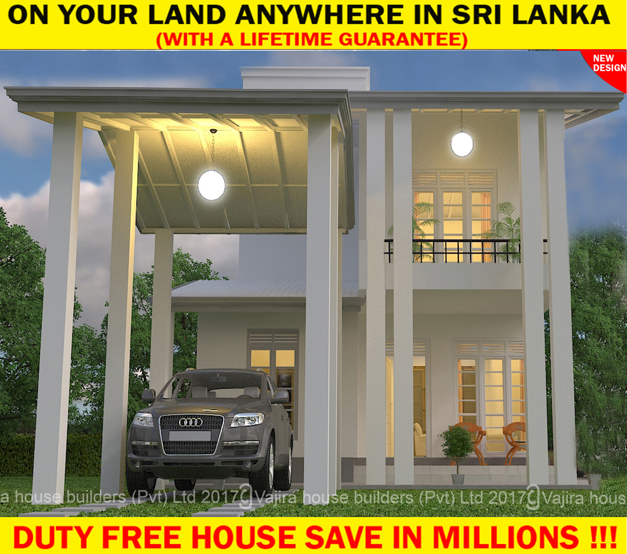 twostory Vajira House Builders Private Limited Best House