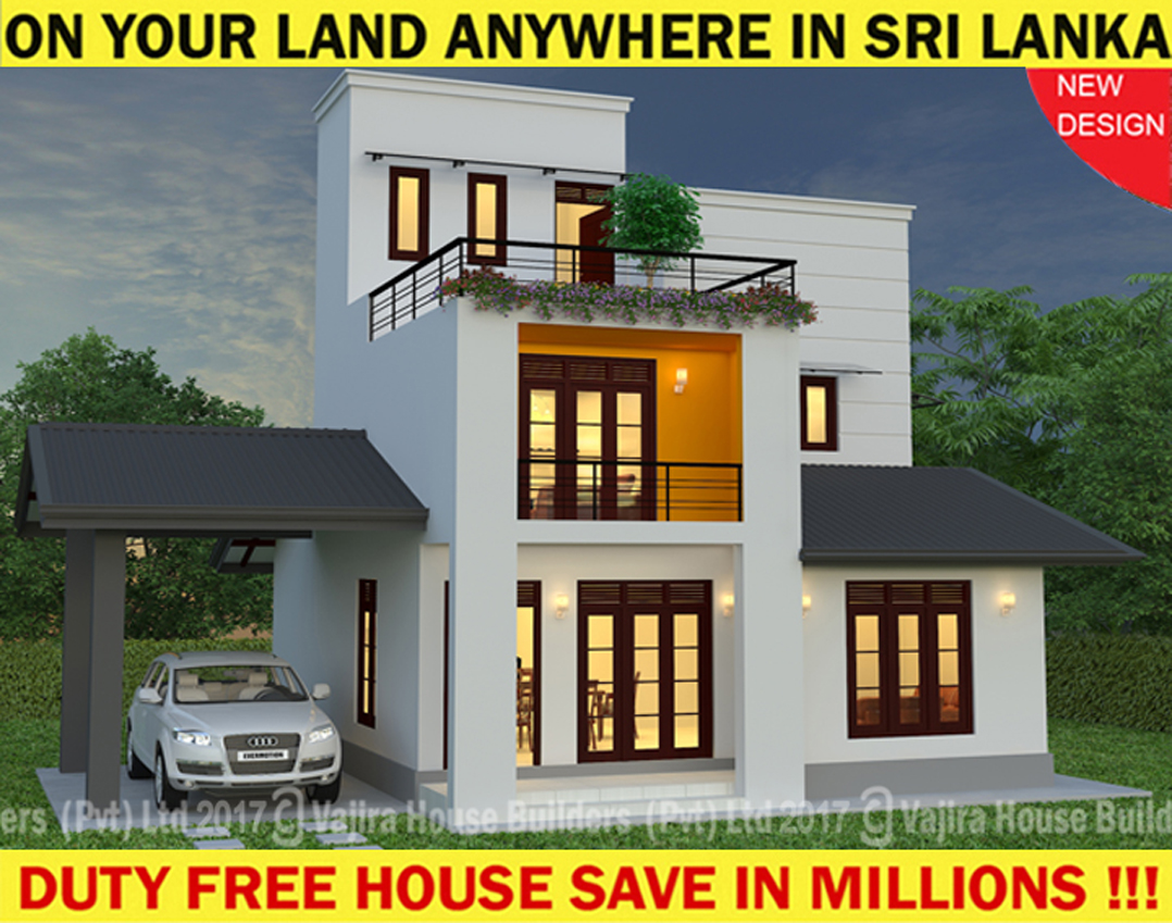 Uh07 vajira house builders private limited best for New home plans with prices