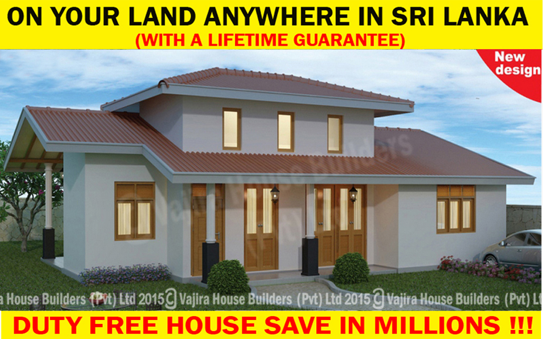 Single Storey Archives Vajira House Builders Private Limited