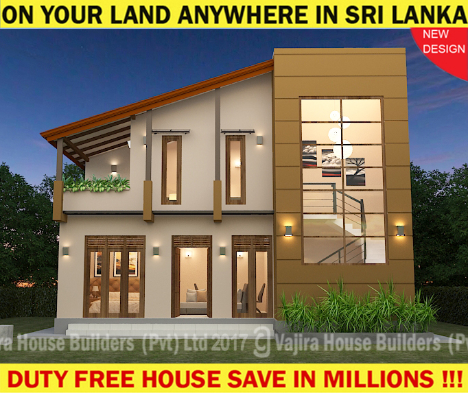 Two Storey Vajira House Builders Private Limited Best House